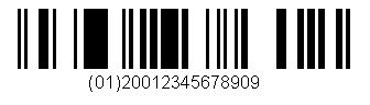 RSS 14 barcode