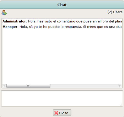 OpenKM online chat