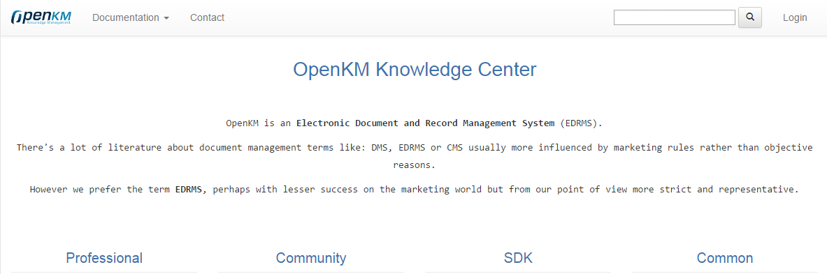 OpenKM Knowledge Center