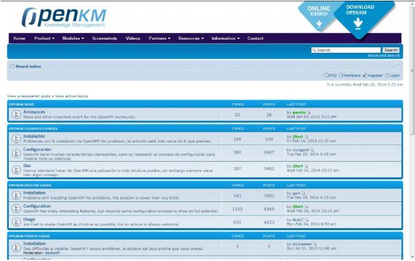 Forum OpenKM
