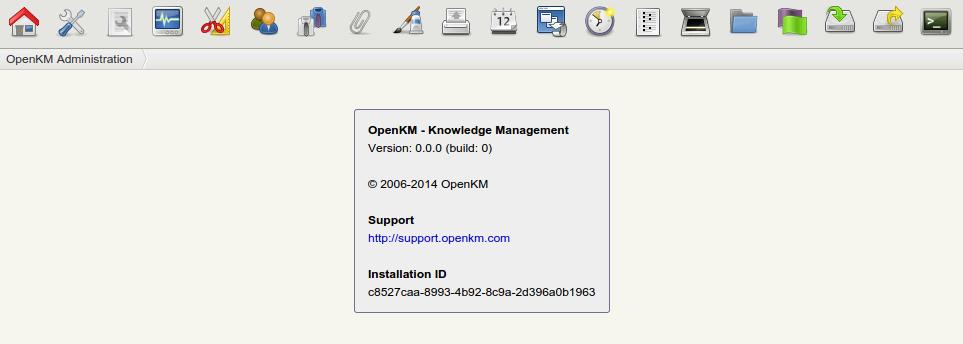 Change default okmAdmin password - OpenKM Documentation