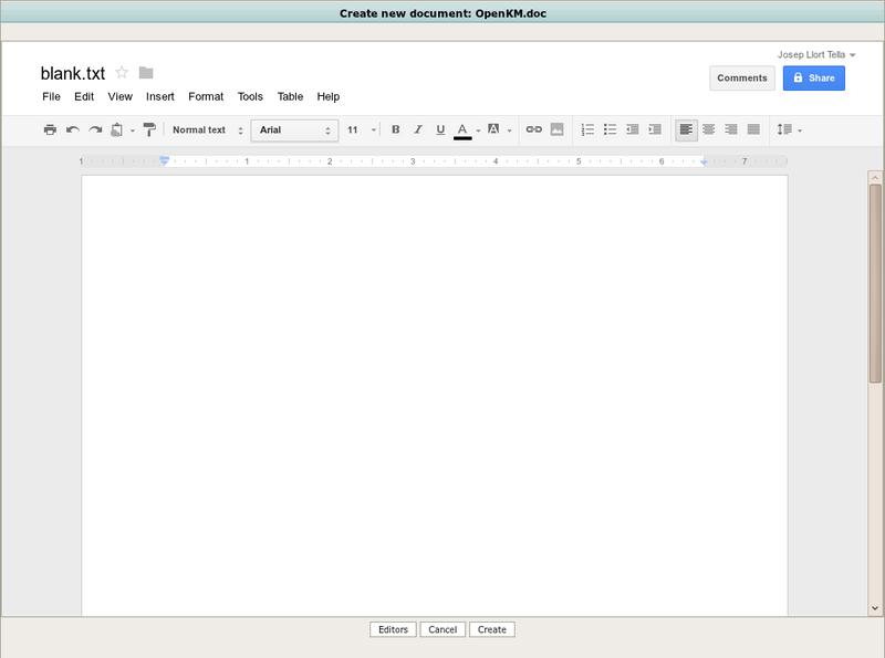 Google Docs: OpenKM Documentation